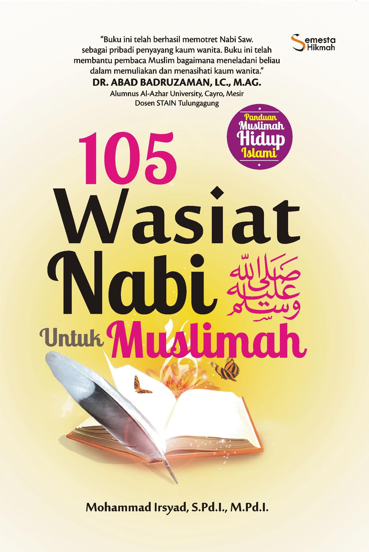 105 WASIAT NABI SAW UNTUK MUSLIMAHen