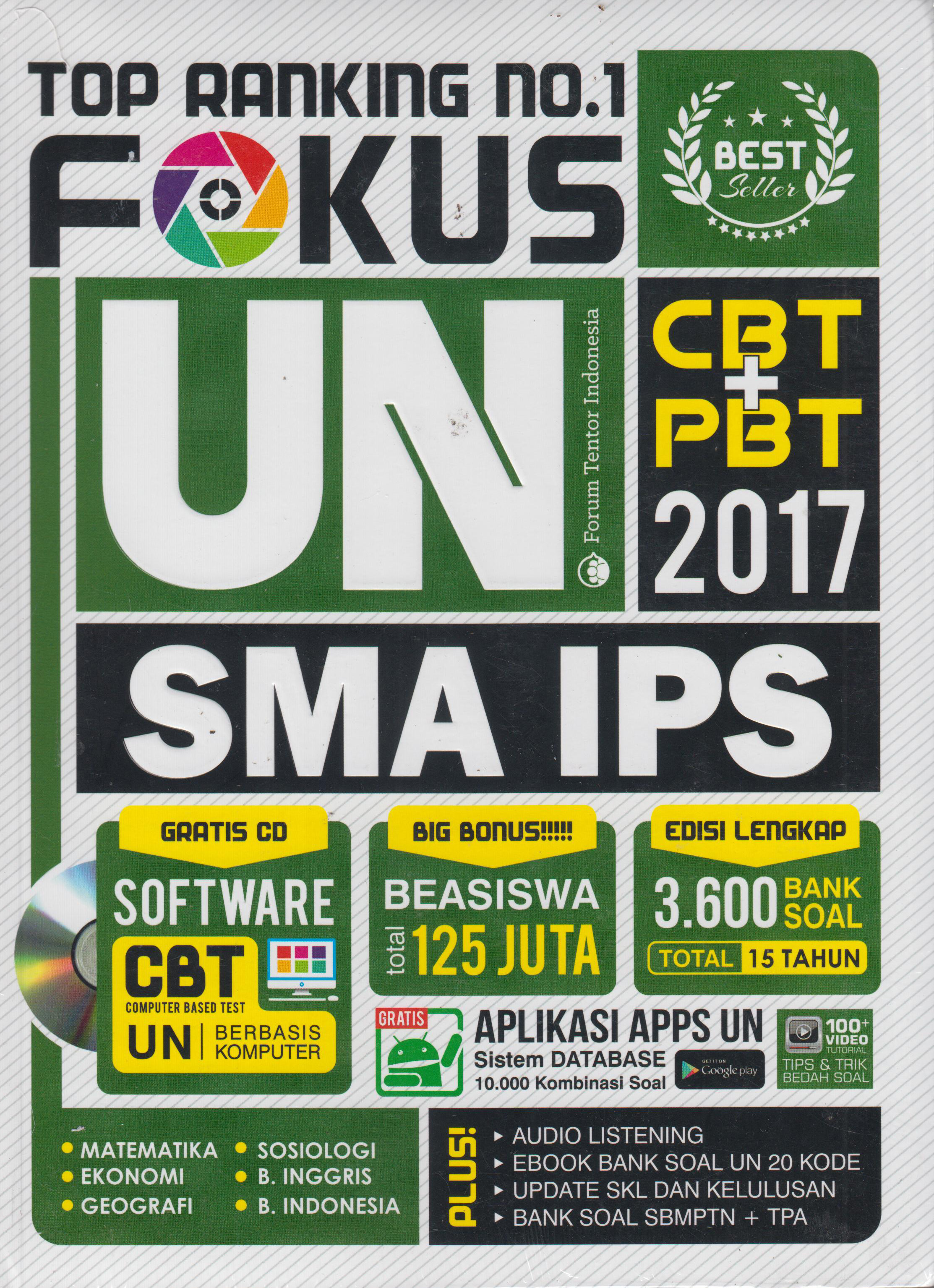 FOKUS UN SMA IPS 2017: TOP RANKING NO 1 en