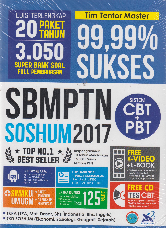 SBMPTN SOSHUM 2017: 99,99 PERSEN SUKSES en