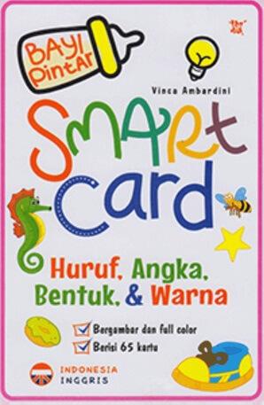 BAYI PINTAR SMART CARD HURUF, ANGKA, BENTUK, & WARNAen