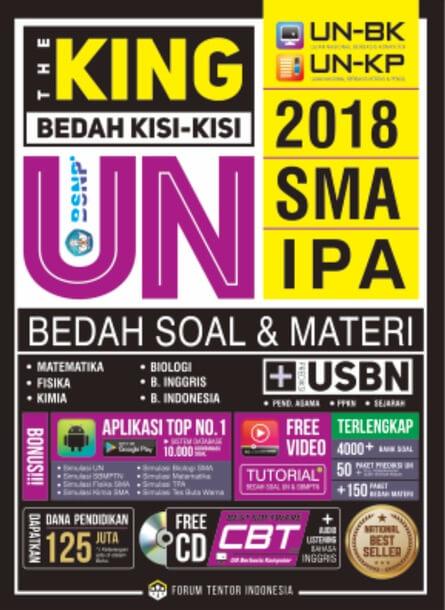 BEDAH KISI2 UN SMA IPA 2018: THE KINGen