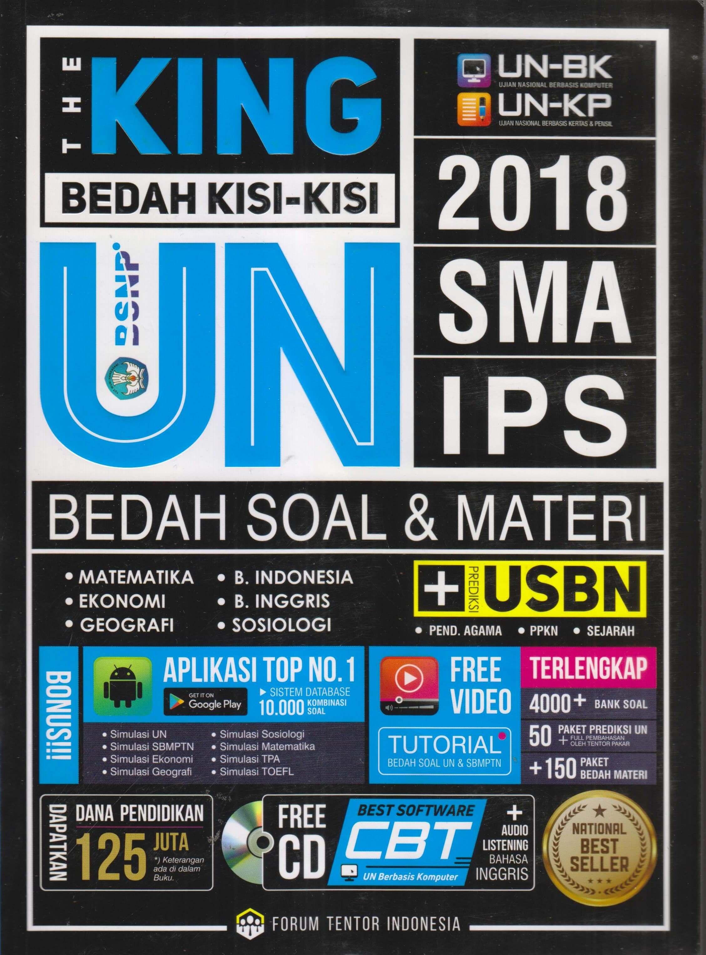 BEDAH KISI2 UN SMA IPS 2018: THE KINGen