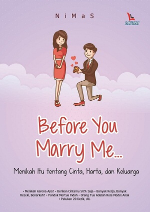 BEFORE YOU MARRY ME...en