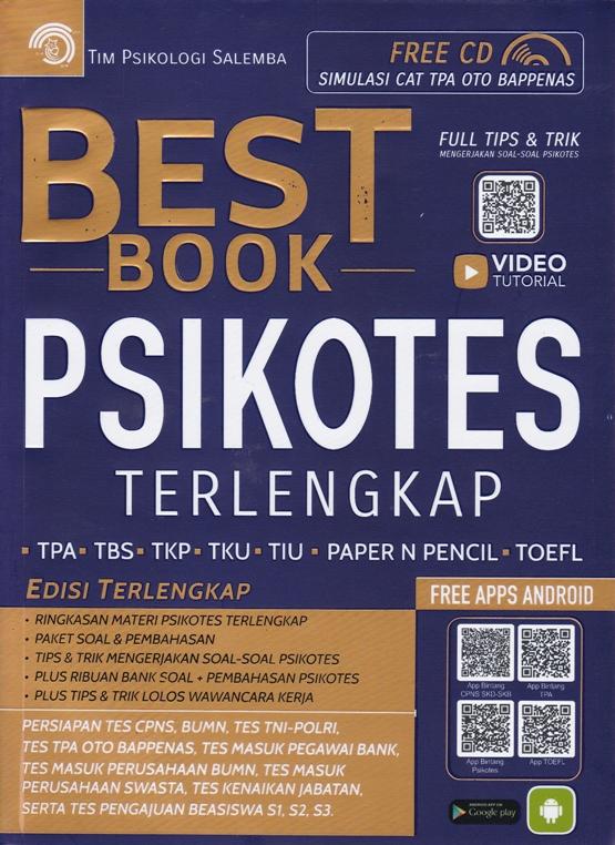BEST BOOK PSIKOTES TERLENGKAPen