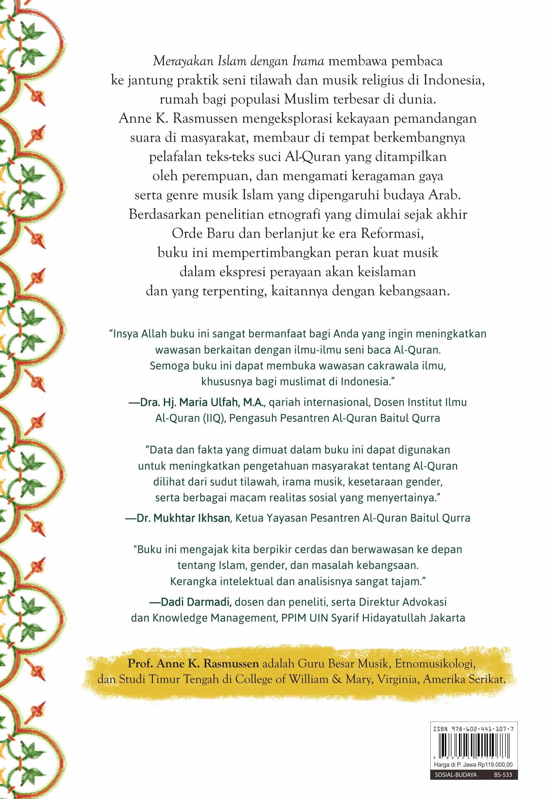 Buku Merayakan Islam Dengan Anne K Mizanstore