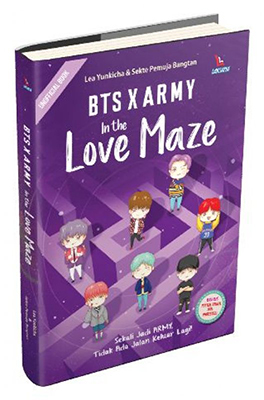 BTS X ARMY IN THE LOVE MAZEen