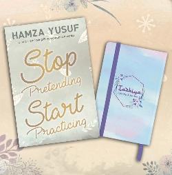 BUNDLING Tazkiya zikir pagi & sore + Stop Pretending Start Practicingen