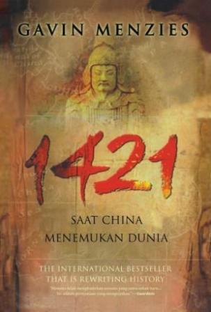 1421 SAAT CHINA MENEMUKAN DUNIA ( HARD COVER )en