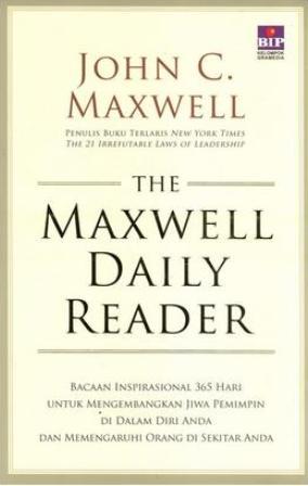 THE MAXWELL DAILY READER SC : PELAJARI CARA MEMIMPINen