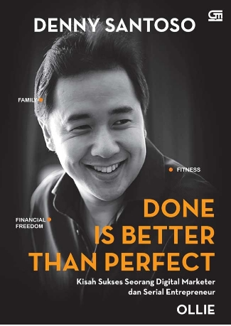 DONE IS BETTER THAN PERFECT en