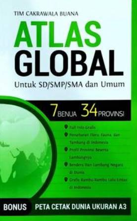ATLAS GLOBAL UNTUK SD/SMP/SMA & UMUM : 7  BENUA 34  PROVINSIen