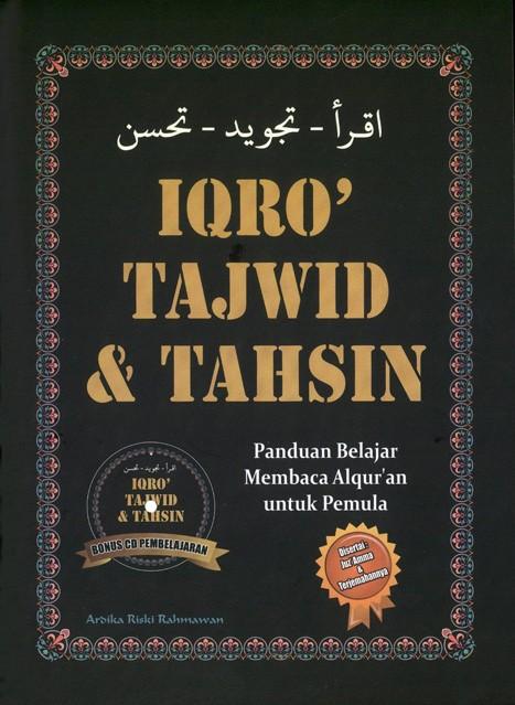 IQRO TAJWID & TAHSIN +CD PEMBELAJARANen