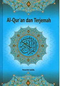 AL-QURAN DAN TERJEMAHNYA A6 - HARD COVERen