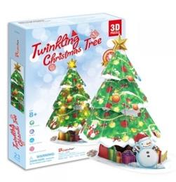 CUBICFUN TWINKLING CHRISTMAS TREE P680Hen