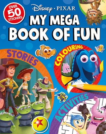 DISNEY PIXAR : MY MEGA BOOK OF FUNen