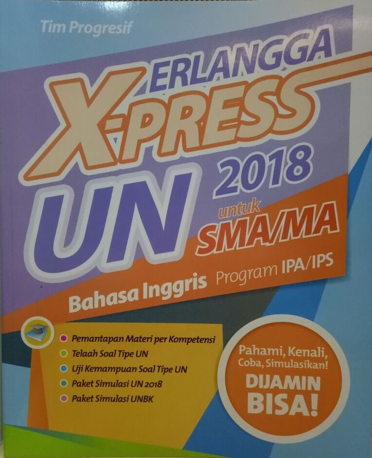 ERLANGGA X-PRESS UN SMA/MA 2018 B.INGGRISen