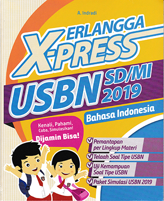 ERLANGGA X-PRESS USBN SD/MI 2019 BAHASA INDONESIAen