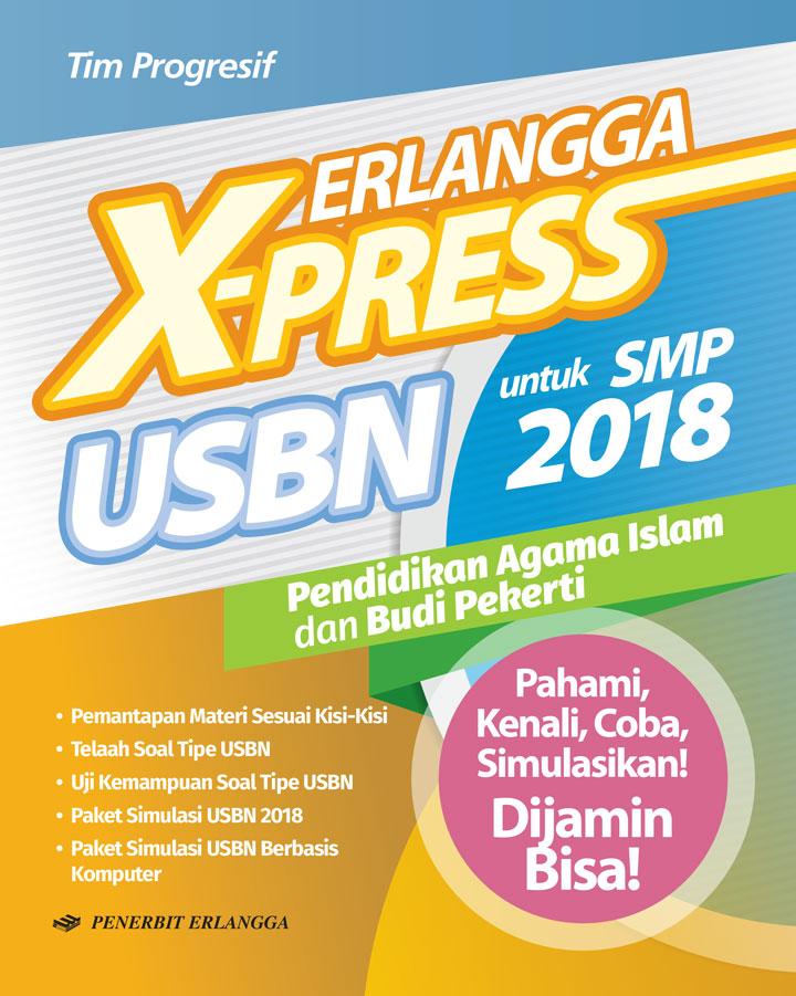 ERLANGGA X-PRESS USBN SMP/MTS 2018 PEND. AGAMA ISLAM & BUDIPen