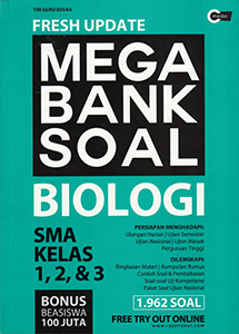FRESH UPDATE MEGA BANK SOAL BIOLOGI SMA KELAS 1, 2,  DAN  3en