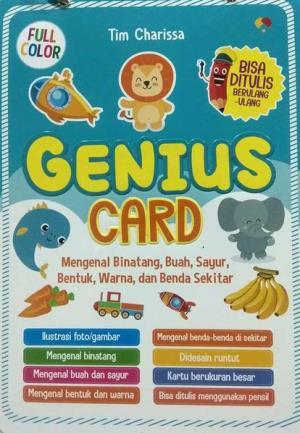 GENIUS CARD: MENGENAL BINATANG , BUAHen