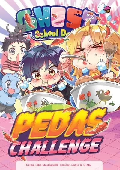 GHOST SCHOOL DAYS: PEDAS CHALLENGEen