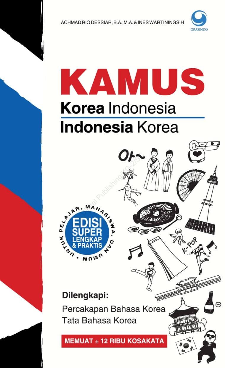 KAMUS KOREA - INDONESIA  DAN  INDONESIA - KOREA [ACHMAD RIO DESSen
