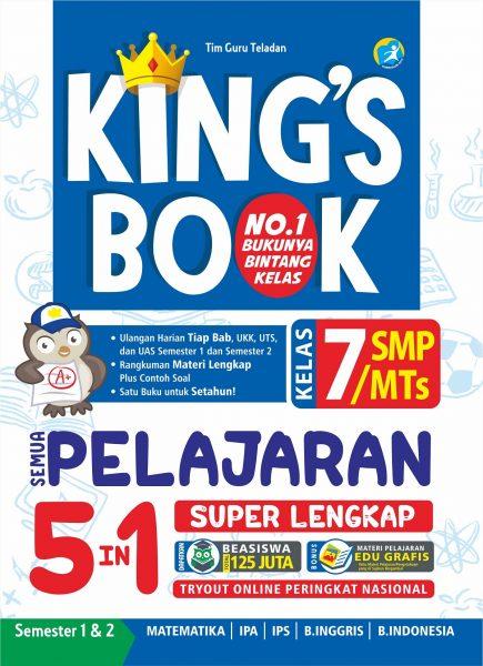 KING`S BOOK KELAS 7 SMP/MTSen