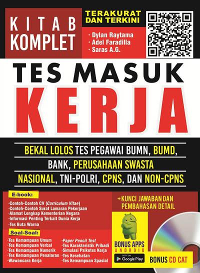 KITAB KOMPLET TES MASUK KERJA  ( BONUS CD CAT )en