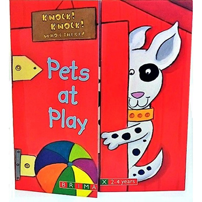 KNOCK KNOCK: PETS AT PLAYen