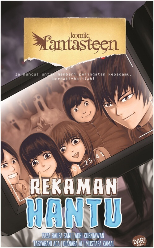 KOMIK FANTASTEEN#58:REKAMAN HANTUen
