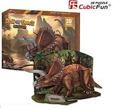 AGE OF DINOS TRICERATOPS P669Hen