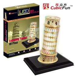 PISA TOWER W/ LIGHT (LED) XL L502Hen