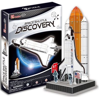 CUBICFUN SPACE SHUTTLE DISCOVERY M P601Hen