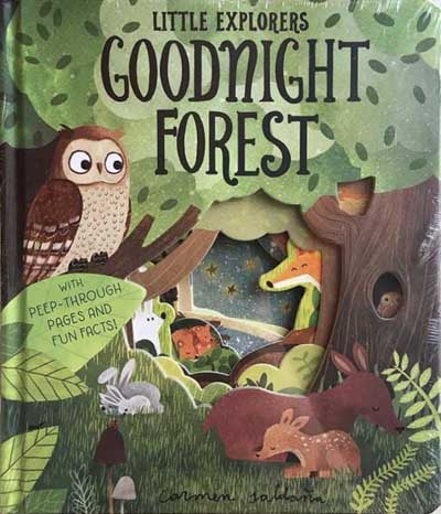 LITTLE EXPLORERS : GOODNIGHT FORESTen