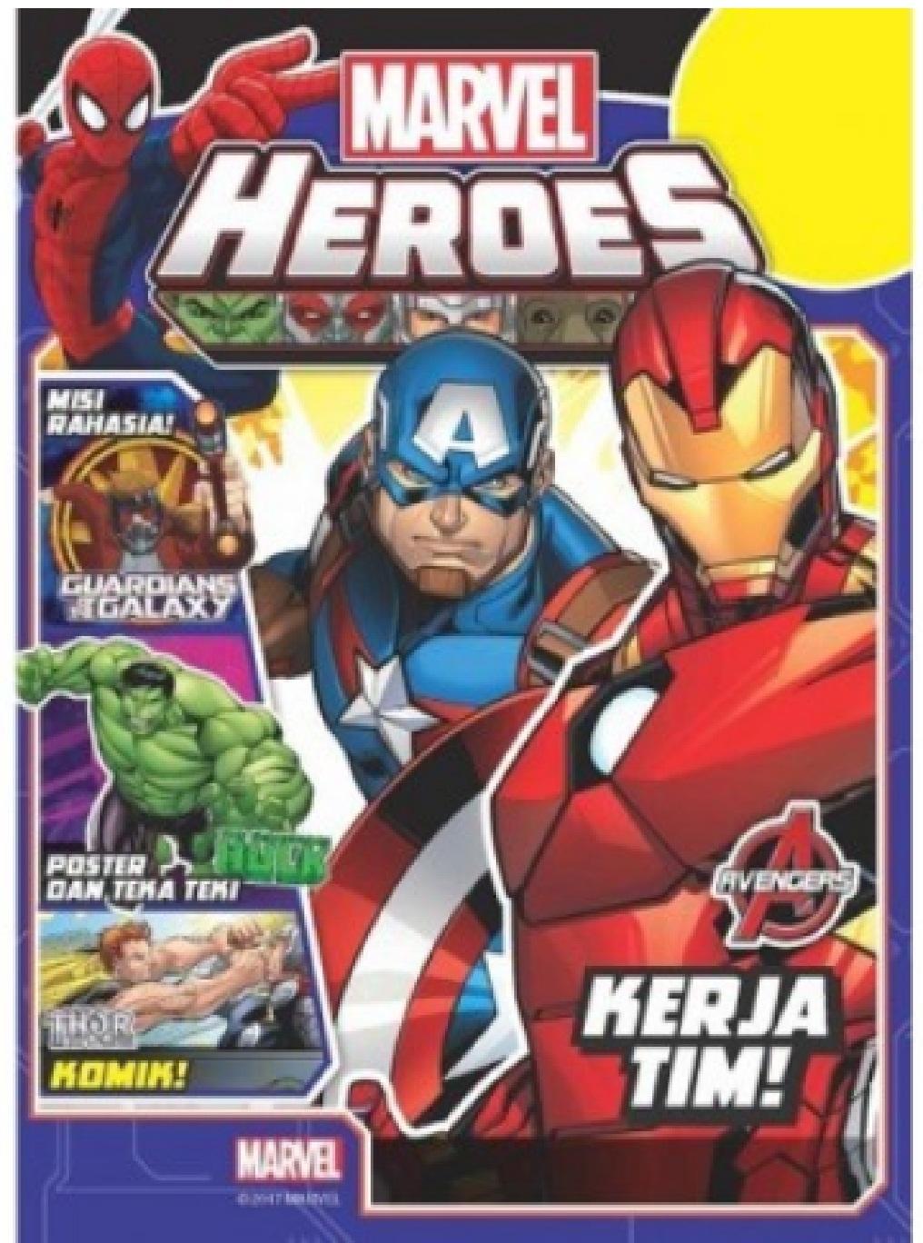 MARVEL AVENGERS AND OTHER HEROES-AVENGERS KERJA TIM! [DISNEY - Men