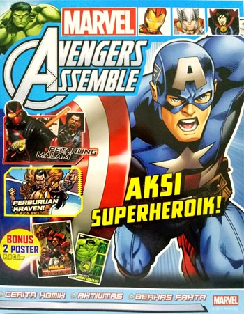 MARVEL AVENGERS ASSEMBLE: AKSI SUPERHEROIK! [DISNEY - MARVEL]en