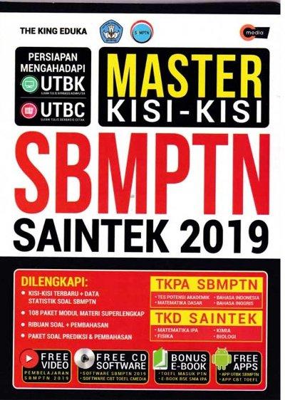 MASTER KISI-KISI SBMPTN SAINTEK 2019 ( PLUS CD )en