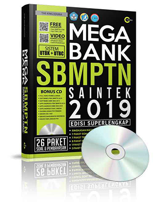 MEGA BANK SBMPTN SAINTEK 2019 (PLUS CD)en