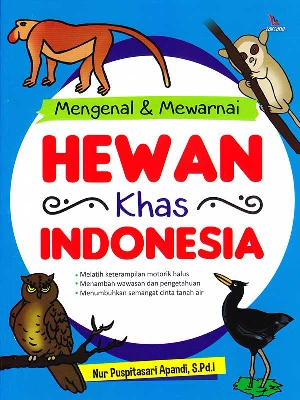 MENGENAL  DAN  MEWARNAI HEWAN KHAS INDONESIAen