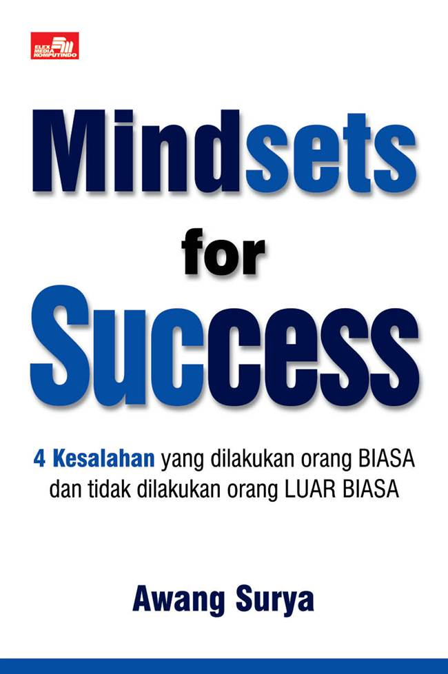 MINDSETS FOR SUCCESS [AWANG SURYA]en