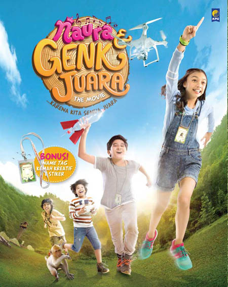 NAURA DAN GENK JUARA THE MOVIEen
