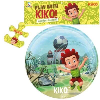 OPREDO ROUND PUZZLE KIKO: PLAY WITH KIKO!en