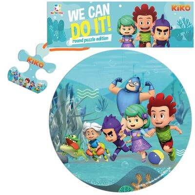 OPREDO ROUND PUZZLE KIKO: WE CAN DO IT!en