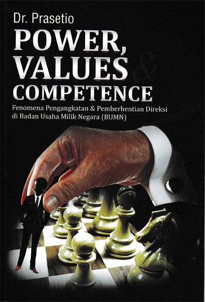 POWER, VALUES, DAN COMPETENCEen