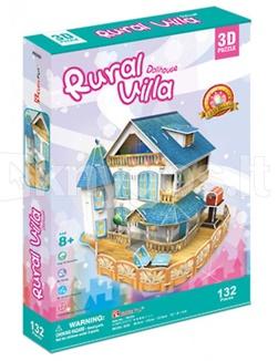 RURAL VILLA DOLLHOUSE P635Hen