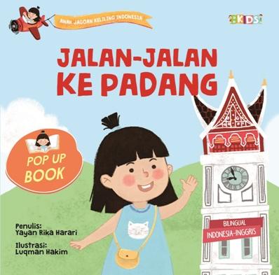 SERI AJKI.POP UP BOOK: JALAN-JALAN KE PADANG (BOARDBOOK)en