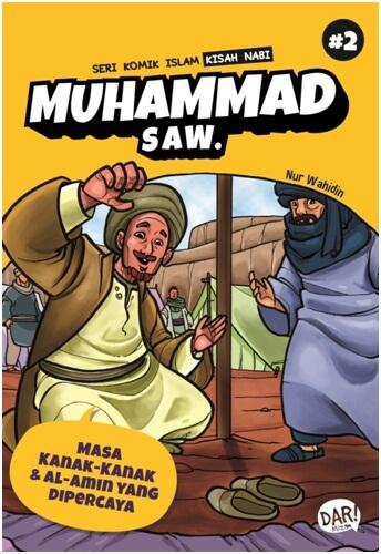 SKI KISAH NABI MUHAMMAD SAW:MASA KANAK-KANAK & AL-AMIN YG DAen