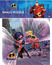 SMALL PUZZLE INCREDIBLES 2: FIGHTING CRIMEen