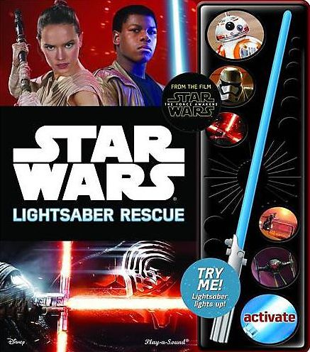 STAR WARS THE FORCE AWAKENS LIGHTSABER ADVENTUREen