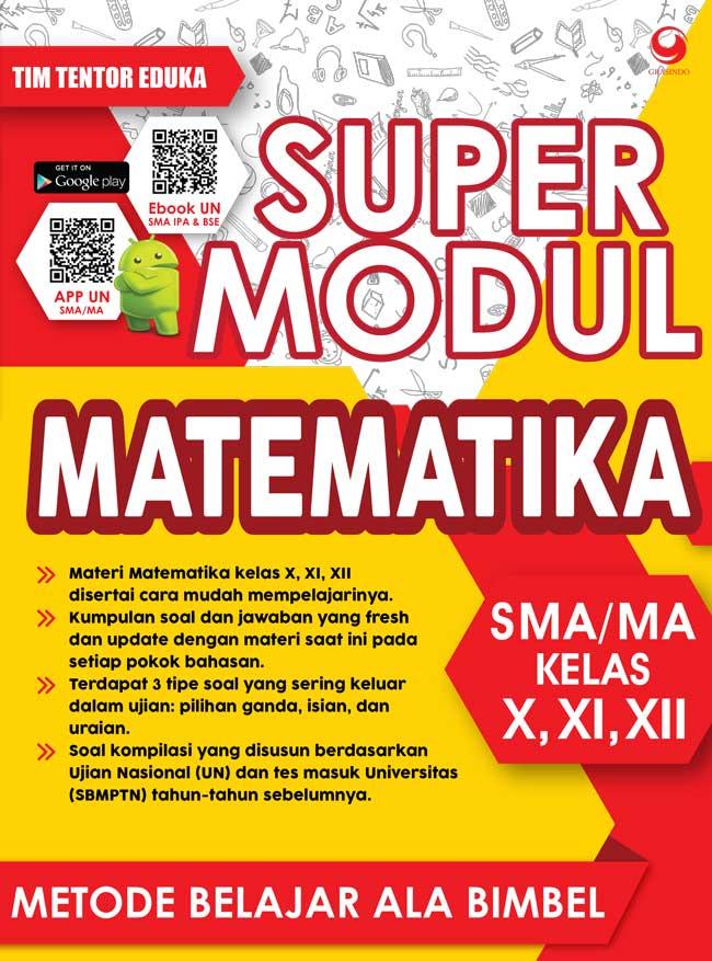 SUPER MODUL MATEMATIKA SMA KELAS X, XI, DAN XIIen
